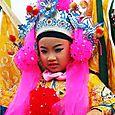 girl in Matsu parade