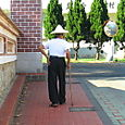 Man Walking in Ou Cuo 歐厝