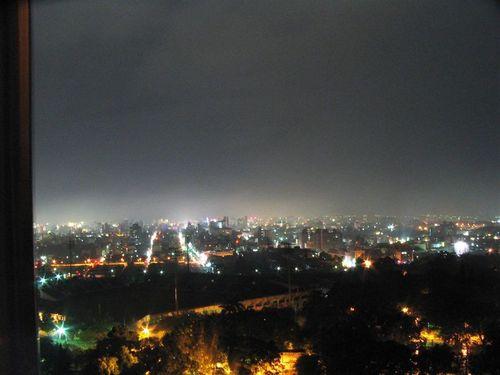 View of Chia Yi at night