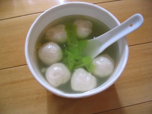 Yu2 wan2 tang1 魚丸湯